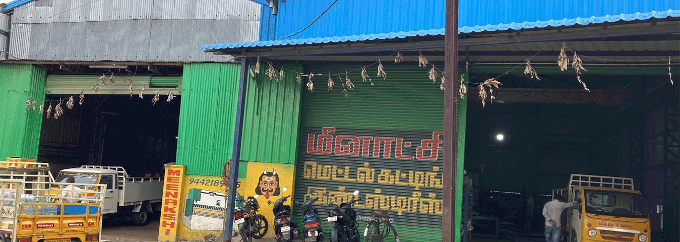 CNC Gas Cutting Coimbatore